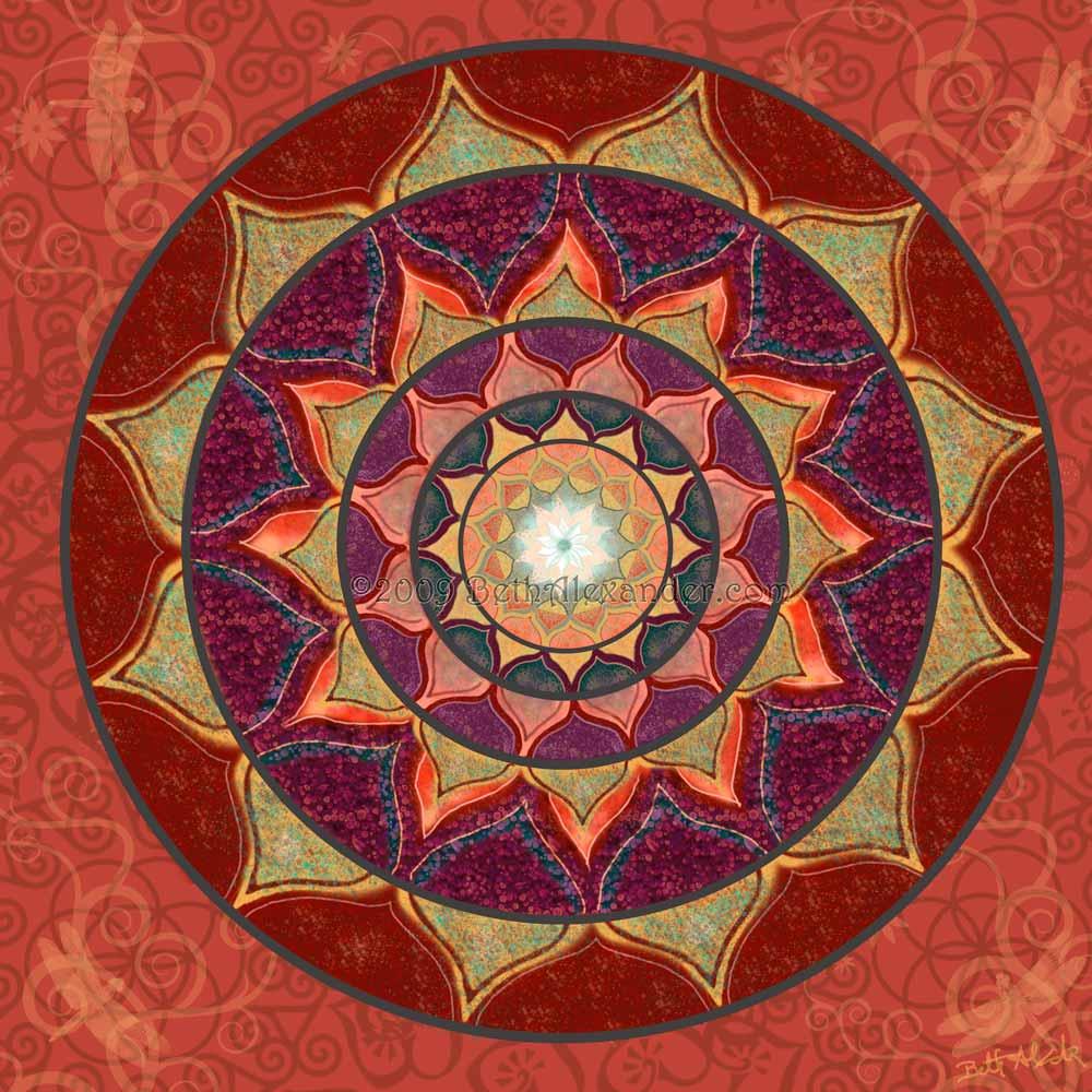 Artist Beth L. Alexander Bethalexander.com ©2009