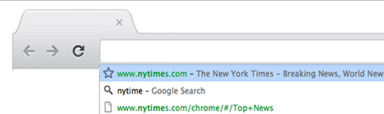 chrome omnibox