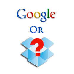 Google or Dropbox?