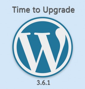 WordPress 3.6.1 Upgrade Now